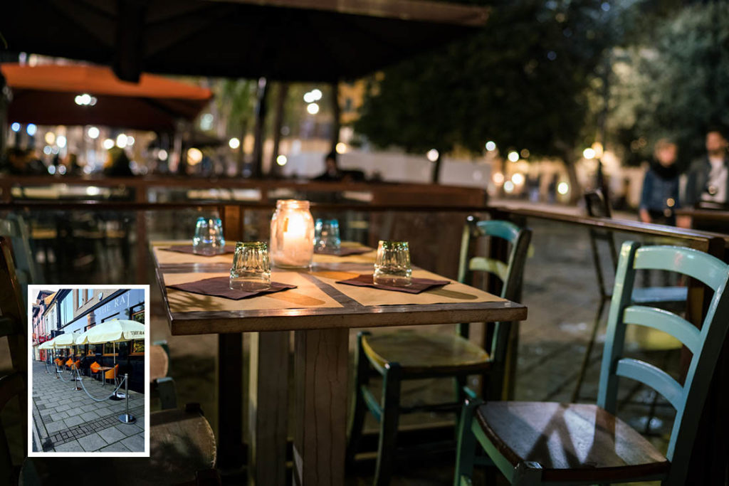 Relaxations in planning rules could see a rise in al fresco dining in the UK